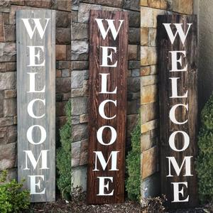 Wood Welcome/Home Sign